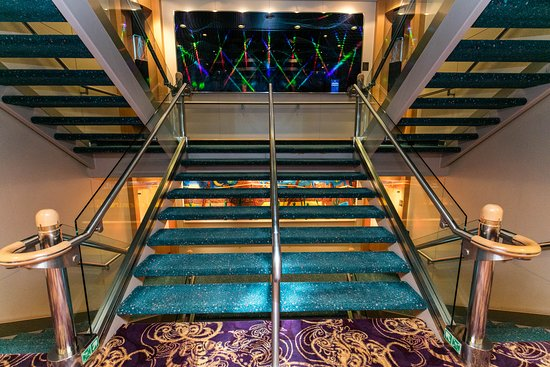 Stairs on Jewel of the Seas