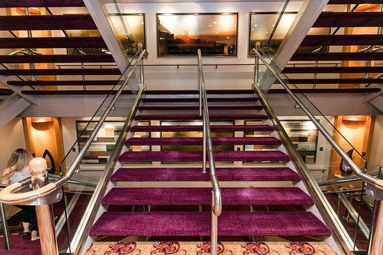 Stairs on Jewel of the Seas