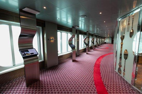 Hallways on Koningsdam