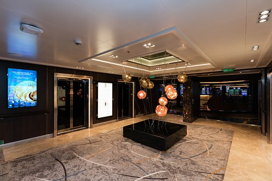 Elevators on Koningsdam
