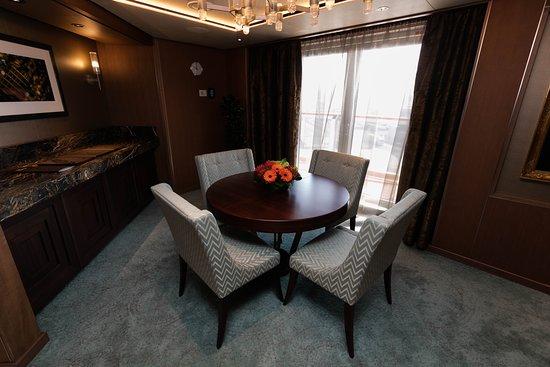 The Pinnacle Suite on Koningsdam