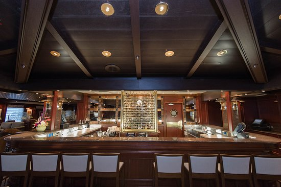 Wheelhouse Bar on Ruby Princess