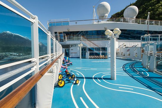 Kids Outdoor Play Area on Ruby Princess