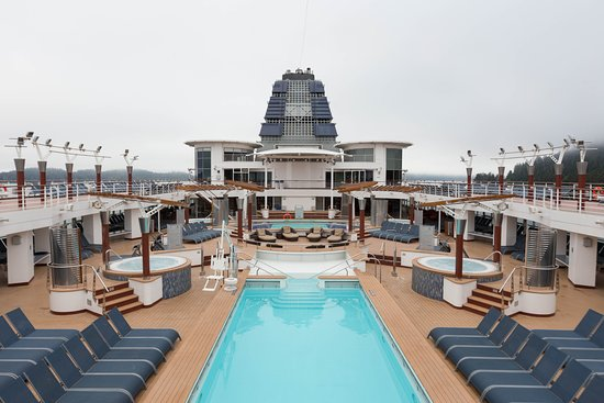 The Pool on Celebrity Millennium