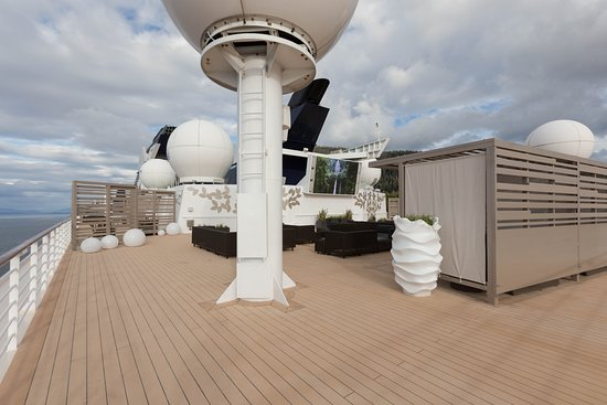 The Rooftop Terrace on Celebrity Millennium