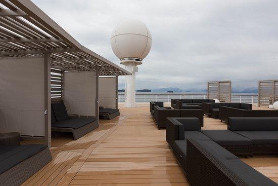 The Rooftop Terrace on Celebrity Millennium