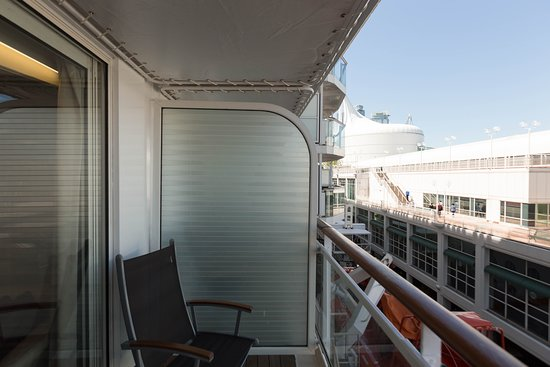 The Deluxe Oceanview Cabin with Balcony on Celebrity Millennium
