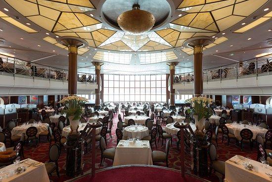 Metropolitan Dining Room on Celebrity Millennium