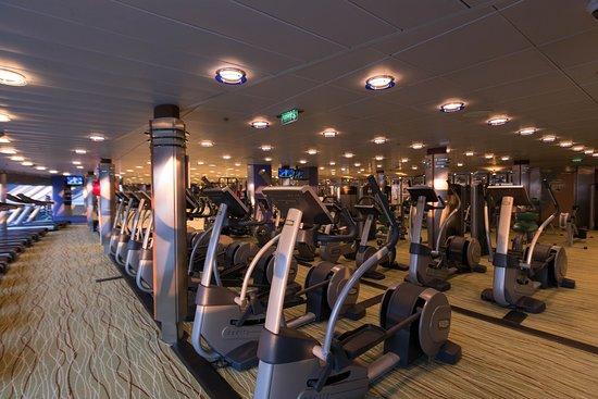 Fitness Center on Celebrity Millennium