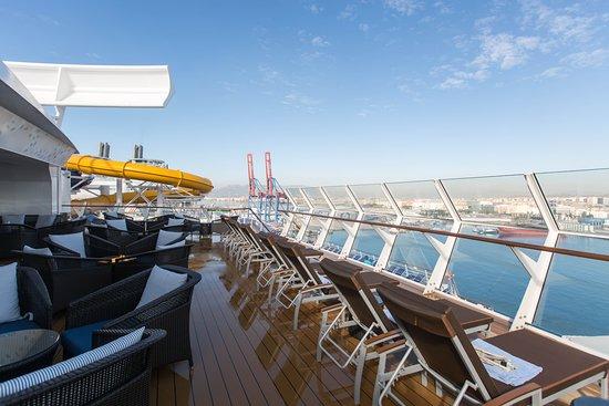 Harmony of the Seas: The Suite Sun Deck on Harmony of the Seas