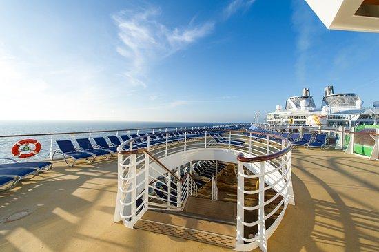 The Sky Deck on Harmony of the Seas