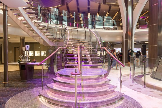 Stairs on Harmony of the Seas