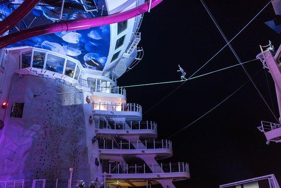 Aqua Theater on Harmony of the Seas