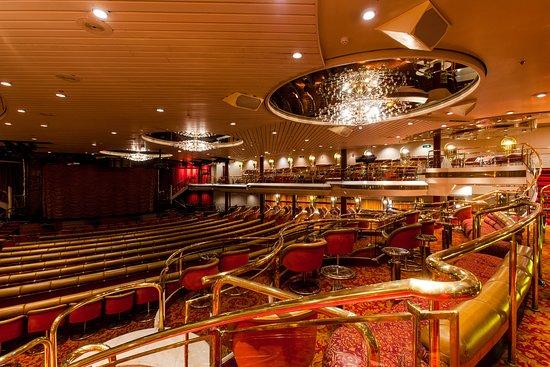 A Chorus Line Lounge on Majesty of the Seas
