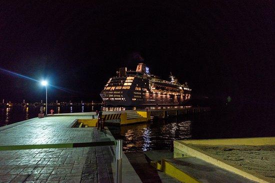 Ship Exterior on Empress of the Seas