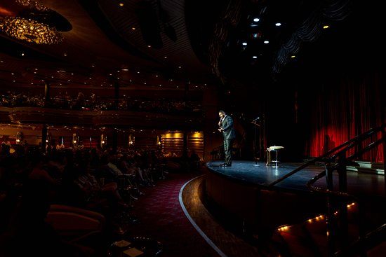 Comedy Show on Empress of the Seas