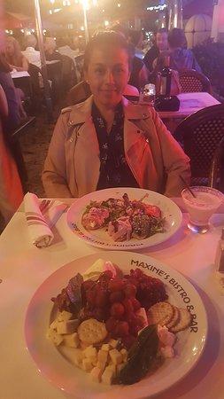 Catalina Hotel & Beach Club: Deliciosos platos servidos en Catalina Hotel