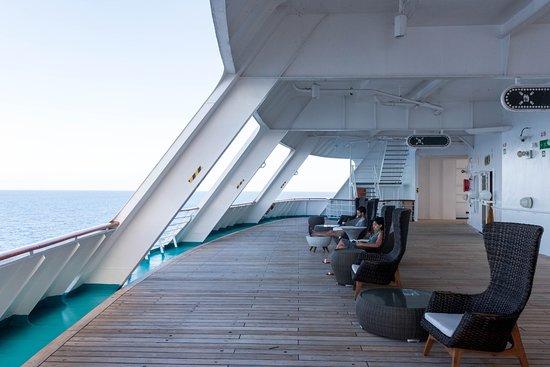 Exterior Decks on Empress of the Seas