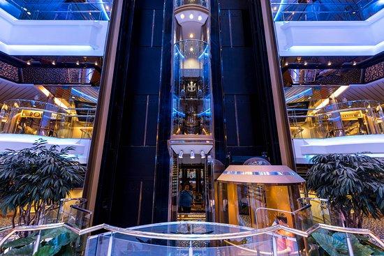 Elevators on Empress of the Seas