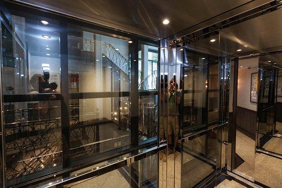 Elevators on ms Grace