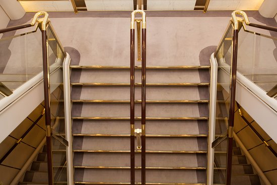 Stairs on Crystal Symphony