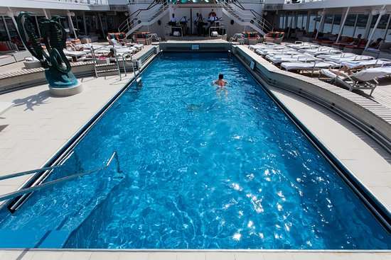 The Seahorse Pool on Crystal Symphony