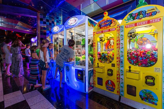 Video Arcade on Carnival Sensation