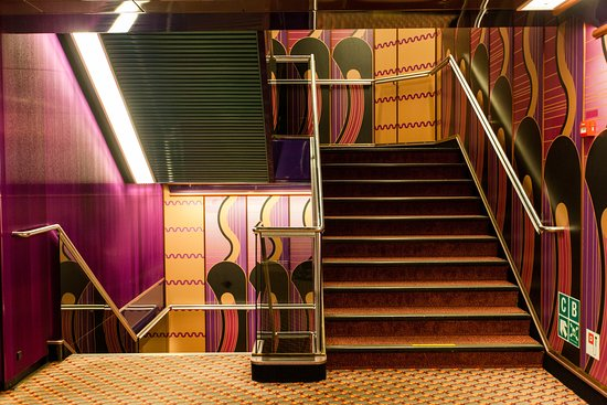 Stairs on Carnival Sensation