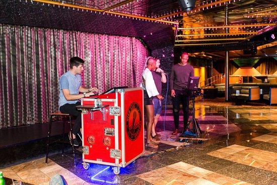 Karaoke Nights on Carnival Sensation