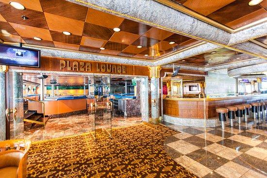 Plaza Lounge on Carnival Sensation