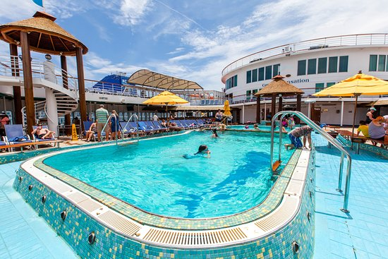 The Pool on Carnival Sensation