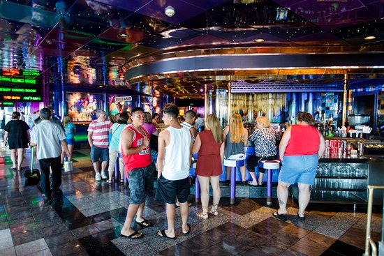 Mirage Bar on Carnival Sensation