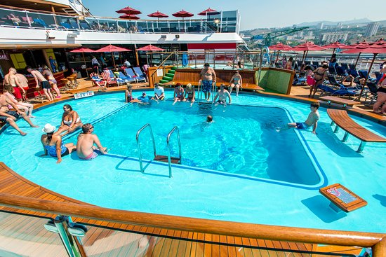 The Tides Pool on Carnival Vista