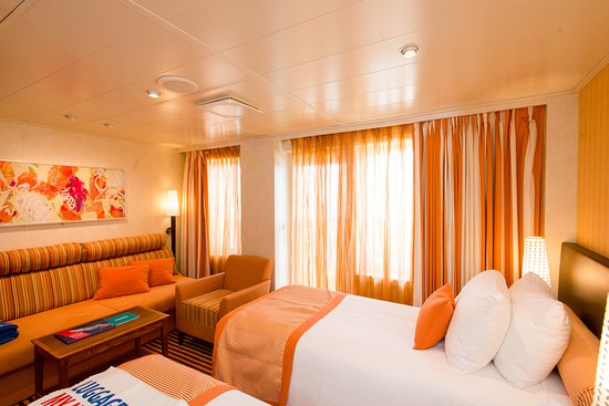 The Ocean Suite (Double Twin) on Carnival Vista