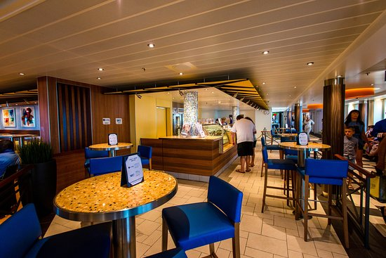 Java Blue Cafe and Shake Spot on Carnival Vista