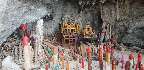 PhraNang Cave Beach: Zona Tipica :D
