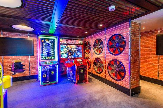 The Warehouse Video Arcade on Carnival Vista