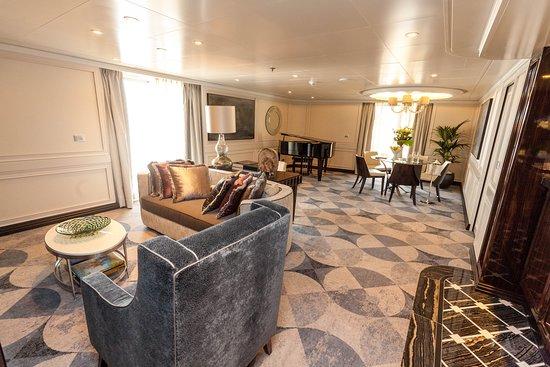 The Master Suite on Seven Seas Explorer