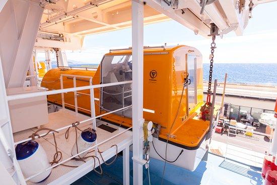 Tender Boats on Seven Seas Explorer