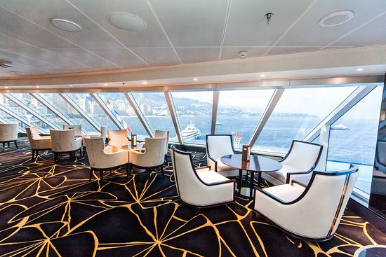 Observation Lounge on Seven Seas Explorer