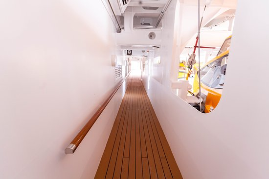 Hallways on Seven Seas Explorer