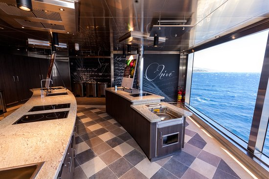 Culinary Arts Kitchen on Seven Seas Explorer