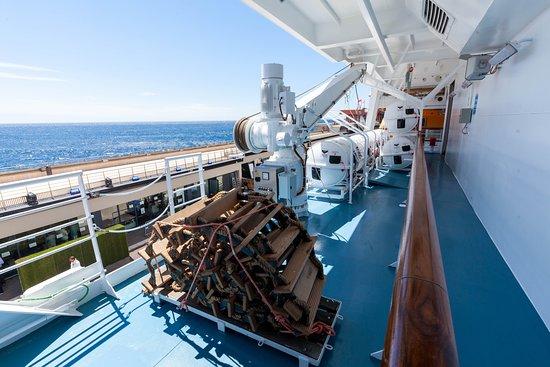 Exterior Decks on Seven Seas Explorer