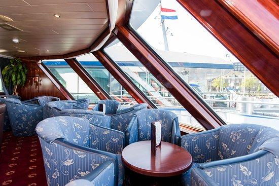 Main Lounge on River Harmony