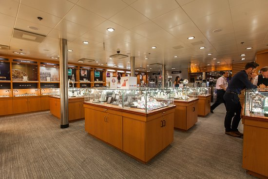 Jewerly Shop on Carnival Fantasy