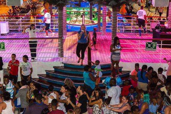 Lido Deck Activities on Carnival Fantasy