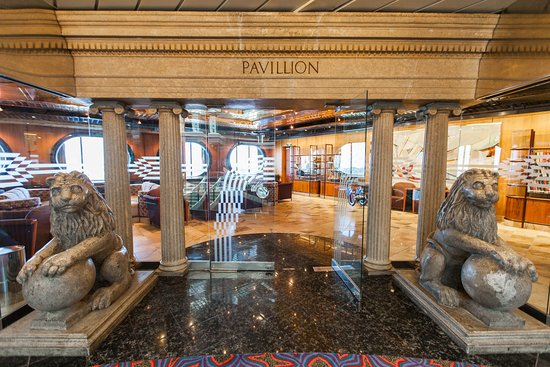 The Pavilion Library on Carnival Fantasy