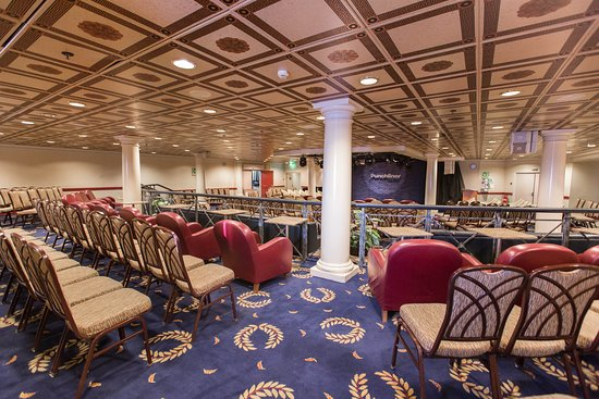 The Forum Aft Lounge on Carnival Fantasy