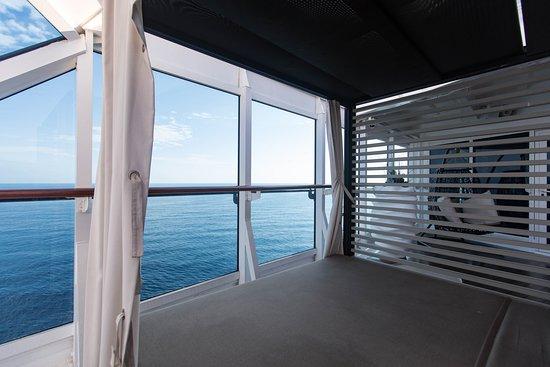 The Sanctum Spa Terrace on Azamara Journey