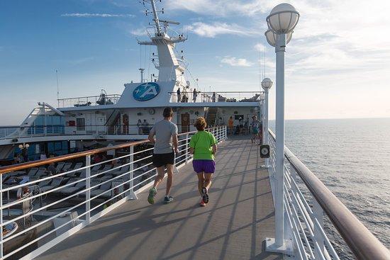 Jogging Track on Azamara Journey